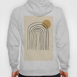 Abstraction Outline Sun Hoody