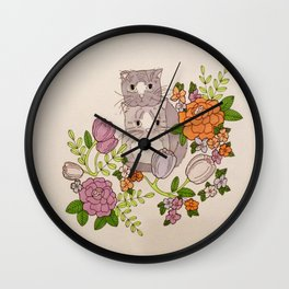 Keeping Your Head Up Wall Clock