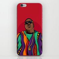notorious iPhone & iPod Skins featuring  Notorious by McfreshCreates