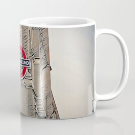 London Underground, St Pancras Tube Station, LONDON Coffee Mug
