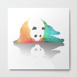 Pandarized Metal Print