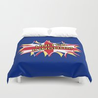 union jack Duvet Covers featuring Union Jack by mailboxdisco