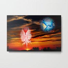 Mystical world,  heavenly apparition Metal Print