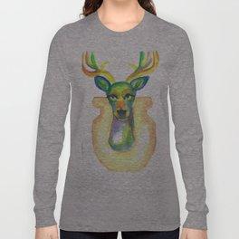 Rainbow Deer Long Sleeve T-shirt