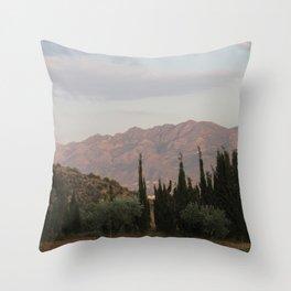 Simmering Sierra Throw Pillow