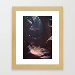 Upper Antelope Canyon-0487 Framed Art Print