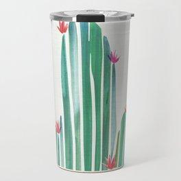 Tiny Cactus Blossoms Travel Mug