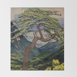 The Downwards Climbing Throw Blanket
