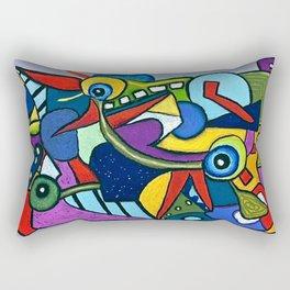 Pterodactyl Smile Rectangular Pillow