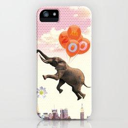 Elephant Air Zoo iPhone Case