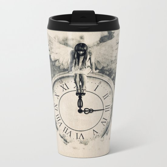 Somewhere In the Clouds Metal Travel Mug