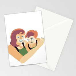 Garcon! Where have you been? Stationery Cards