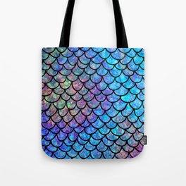 Colorful Mermaid Scales Tote Bag