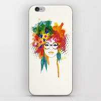 dreamer iPhone & iPod Skins featuring Dreamer by PositIva