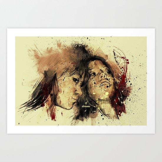 of dreams Art Print