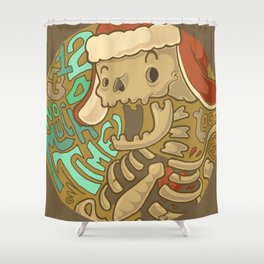 No much time! Shower Curtain