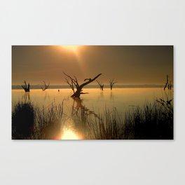 Worshipping Nature Canvas Print