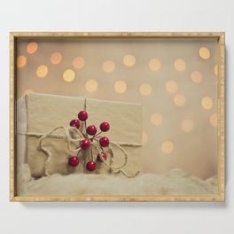 Christmas gift Serving Tray