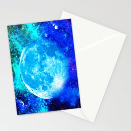 Moon #1 Stationery Cards
