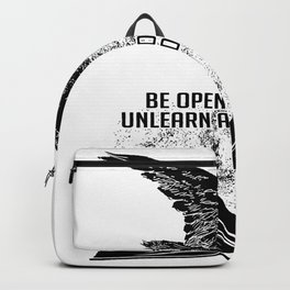 Book Reading Bird Learn Backpack