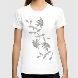Cut-Out Flowers T-shirt