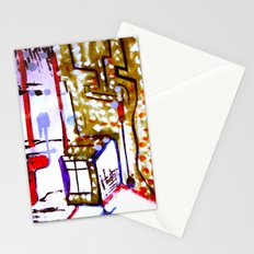 window box Stationery Cards