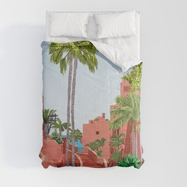 Tropical Architecture Comforters