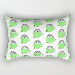 St. Patrick's Hedgehog Rectangular Pillow