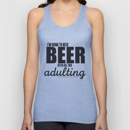 Long Day = Beer Unisex Tank Top