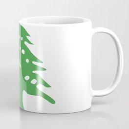 Lebanon flag emblem Coffee Mug