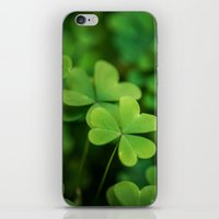 clover iPhone & iPod Skins featuring Clover by Michelle McConnell