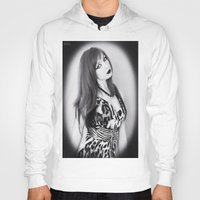 goth Hoodies featuring Portrait Goth by Kuro hana