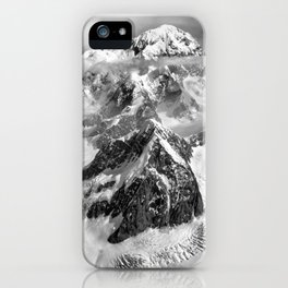 Denali Massif from the Air - Denali & Foraker iPhone Case