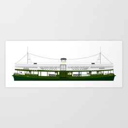 Hong Kong Star Ferry Art Print
