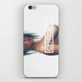 CENSORED_003 iPhone Skin