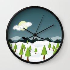 Midnight Isolation Wall Clock