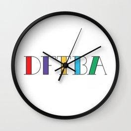 DFTBA Wall Clock