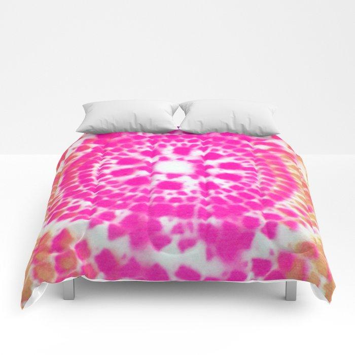 Scale Mandala 4 Comforters