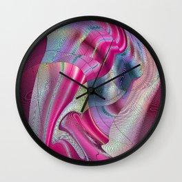 Crosscutt Wall Clock
