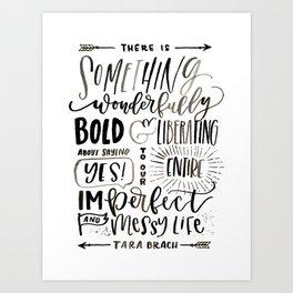 Messy Life Art Print