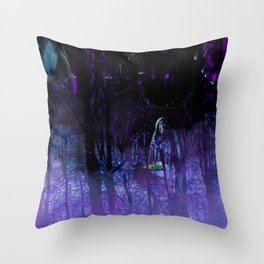 The Witches Haunt Throw Pillow