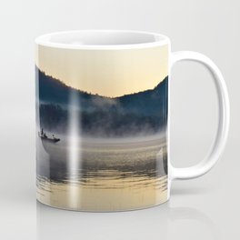 Fishing in the Morning Mist Coffee Mug