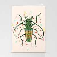 insect Stationery Cards featuring Insect V by dogooder
