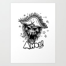 Ahoi! Art Print