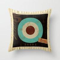 focus Throw Pillows featuring Focus by Michael Jon Watt