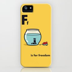 F is for freedom - the irony Slim Case iPhone (5, 5s)