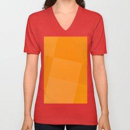 Tangerine Palette Unisex V-Neck