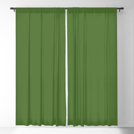 Perfect Day at the Pond ~ Lily Pad Green Blackout Curtain