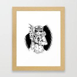 Captain Levi - Air Force Framed Art Print