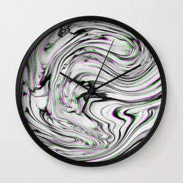 Liquid Marble Wall Clock